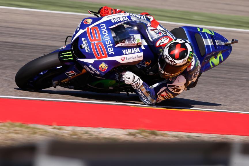 Jorge Lorenzo, Movistar Yamaha MotoGP, Aragón GP Q2