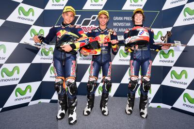 2015 Red Bull MotoGP Rookies Cup - Aragon Race 1 Highlights