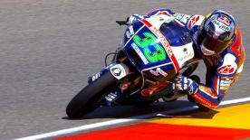 Enea Bastianini obliterated the Pole Record to take his fourth pole position of the season ahead of Miguel Oliveira and Danny Kent.