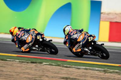 Garcia takes first win in Aragon