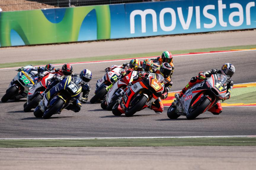 Moto2 Action, Aragón GP RACE