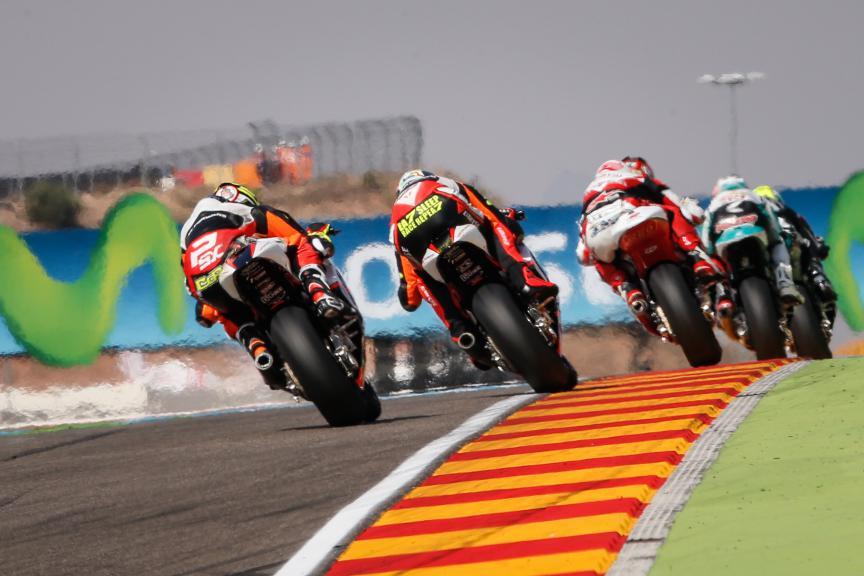 Simone Corsi, Lorenzo Baldassarri, Forward Racing, Aragón GP RACE