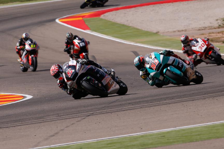 Moto2 Action, Aragón GP RACE