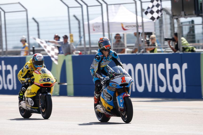 Tito Rabat, Alex Rins, Páginas Amarillas HP 40,  EG 0,0 Marc VDS, Aragón GP RACE