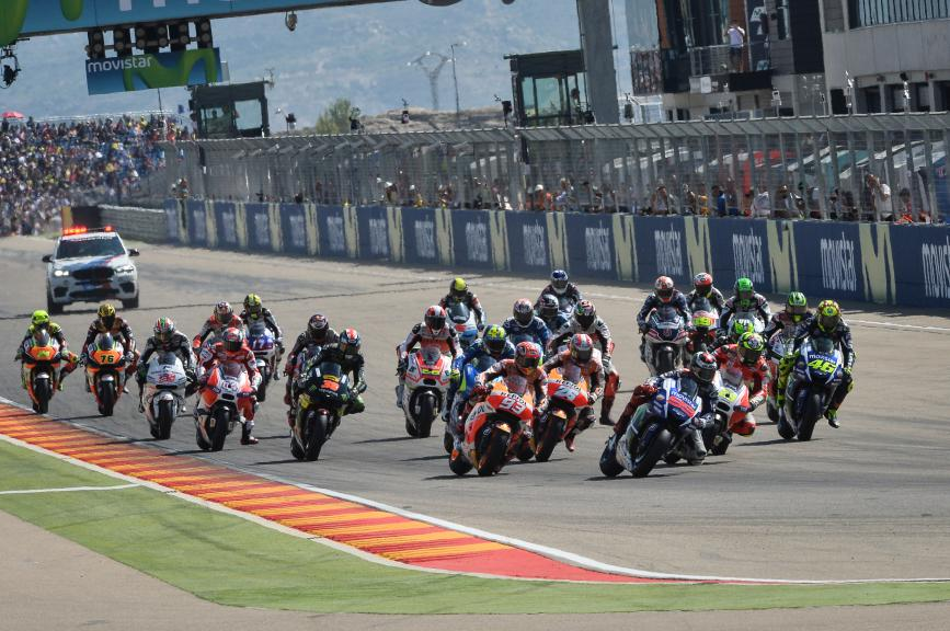 MotoGP Action, Aragón GP RACE