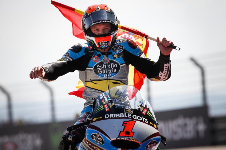 Tito Rabat, EG 0,0 Marc VDS, Aragón GP RACE