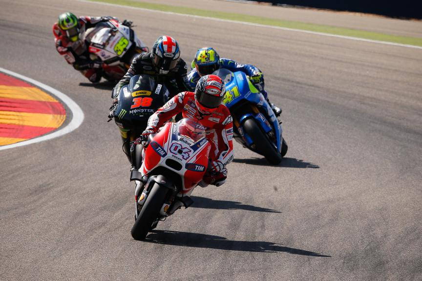 Andrea Dovizioso, Ducati Team, Aragón GP RACE