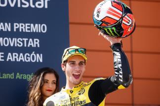 Alex Rins, Paginas Amarillas HP 40, Aragón GP RACE
