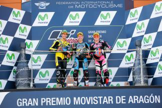 Rins, Rabat, Lowes, Paginas Amarillas HP 40, EG 0,0 Marc VDS, Speed Up Racing, Aragón GP RACE