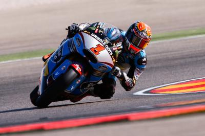 Pole man Rabat on top in Moto2™ Warm Up