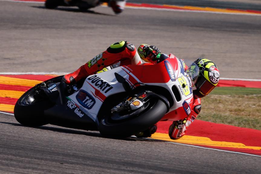 Andrea Iannone, Ducati Team, Aragón GP RACE