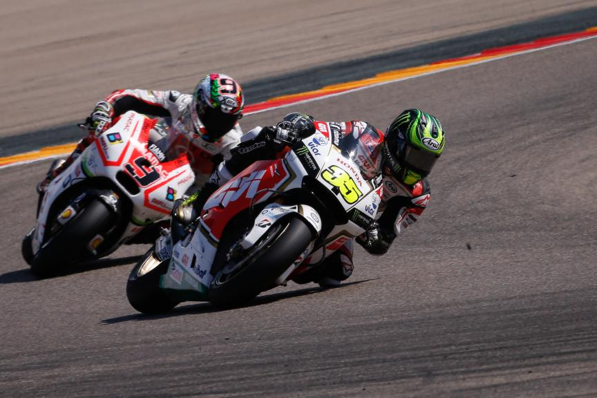 Cal Crutchlow, LCR Honda, Aragón GP RACE