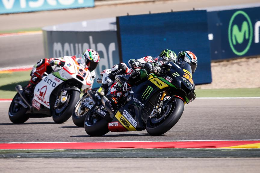 Bradley Smith, Monster Yamaha Tech 3, Aragón GP RACE