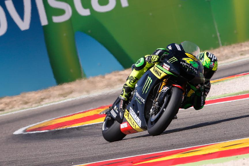 Pol Espargaro, Monster Yamaha Tech 3, Aragón GP RACE