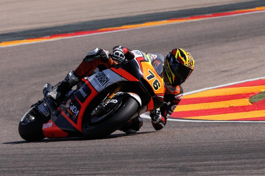 Loris Baz, Forward Racing, Aragón GP RACE