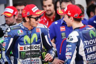 Jorge Lorenzo, Valentino Rossi, Movistar Yamaha MotoGP, Aragón GP RACE
