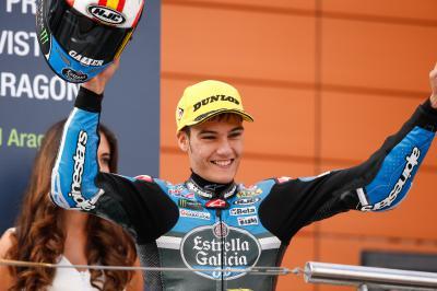 Premier podium pour Jorge Navarro