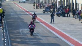 The full Warm Up session for the Moto2™ World Championship at the Aragon GP.