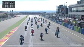 The full race session of the Moto3™ World Championship at the Aragon GP.