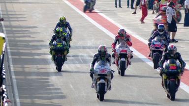 MotoGP™クラス‐ウォームアップ走行