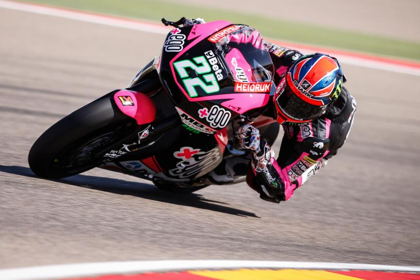 Sam Lowes, Speed Up Racing, Aragón GP RACE