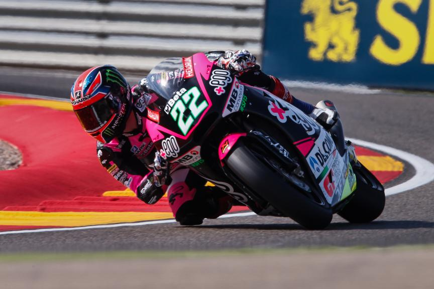 Sam Lowes, Speed Up Racing, Aragón GP WUP
