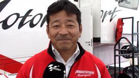 ブリヂストンのモーターサイクルレーシングマネージャー、山田宏がシーズン14戦目の決勝レースを振り返る。