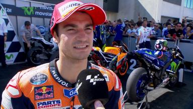 Pedrosa: 'A good battle!'