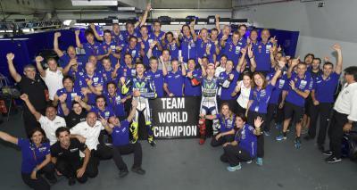 Movistar Yamaha consigue el título de MotoGP™ por equipos