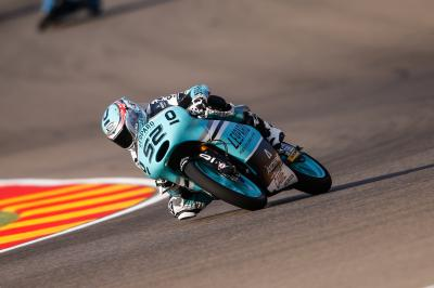 Kent leads the way in Moto3™ Warm Up