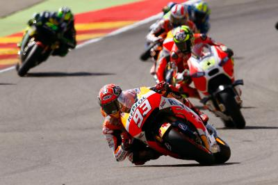 """Marquez: """"I made a mistake and lost the front"""""""
