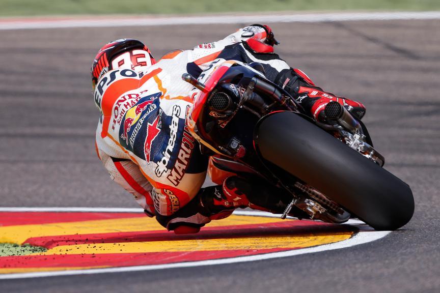 Marc Marquez, Repsol Honda Team, Aragón GP WUP
