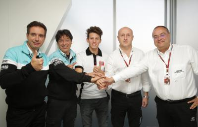 Leopard Racing 2016 mit Andrea Locatelli in der Moto3™