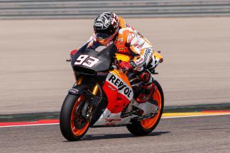 Marc Marquez, Repsol Honda Team, Aragón Test