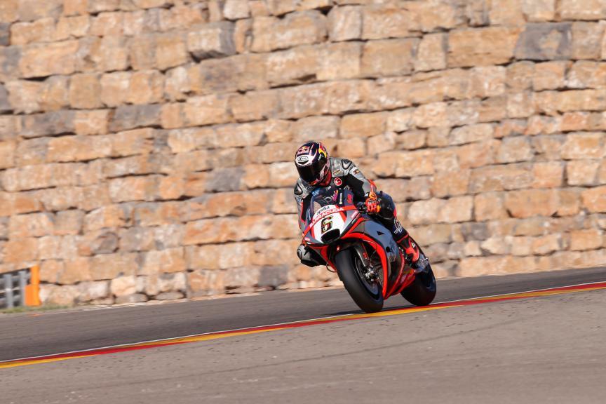 Stefan Bradl, Aprilia Racing Team Gresini, Aragón Test