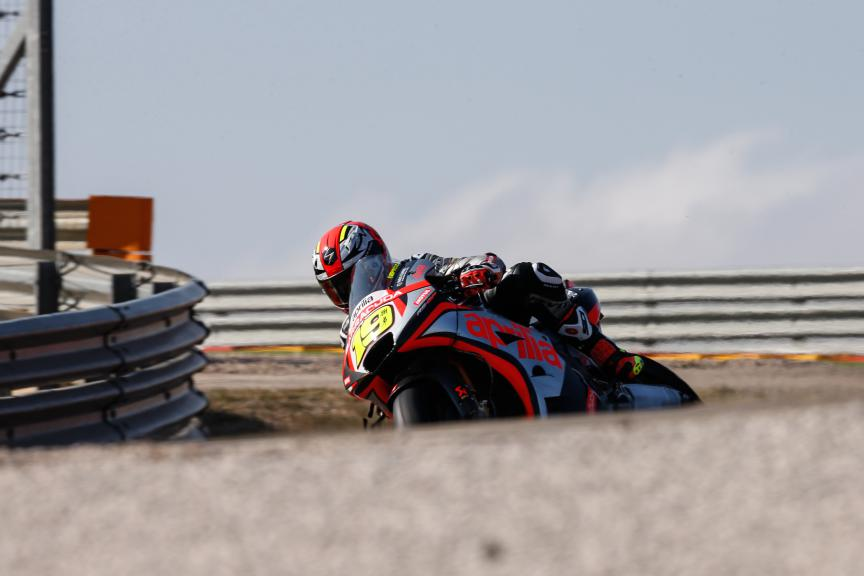 Alvaro Bautista, Aprilia Racing Team Gresini, Aragón Test