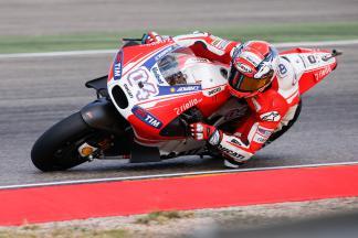Andrea Dovizioso, Ducati Team, Aragón Test