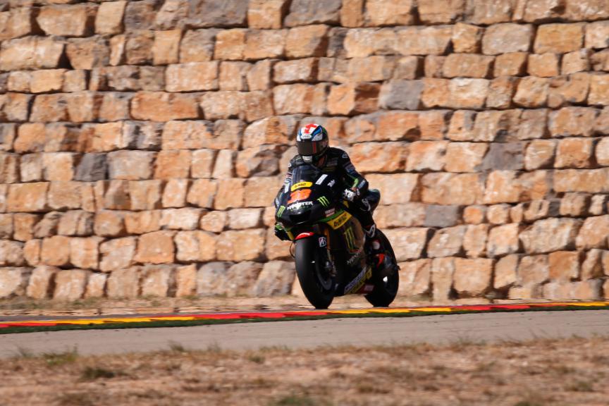 Bradley Smith, Monster Yamaha Tech 3, Aragón Test