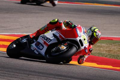 "Iannone: ""I thought I had their pace"""