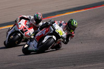 "Crutchlow: ""I was not too happy"""