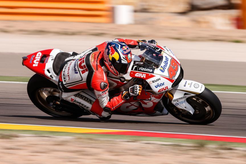 Jack Miller, LCR Honda, Aragón Test