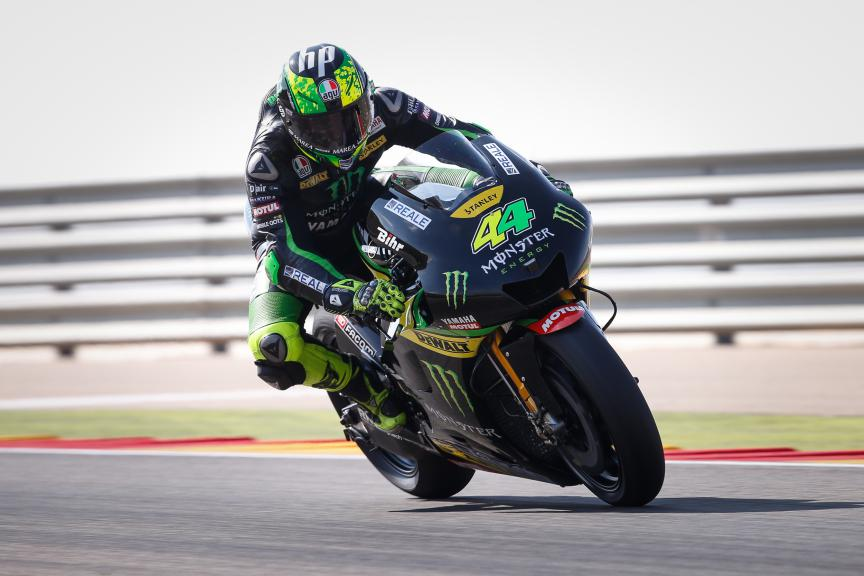 Pol Espargaro, Monster Yamaha Tech 3, Aragón Test