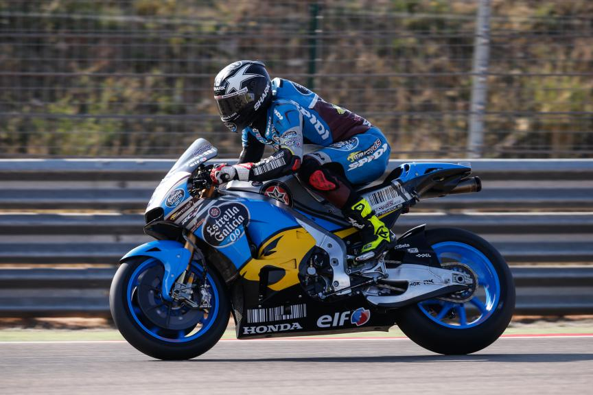 Scott Redding, EG 0,0, Marc VDS, Aragón Test