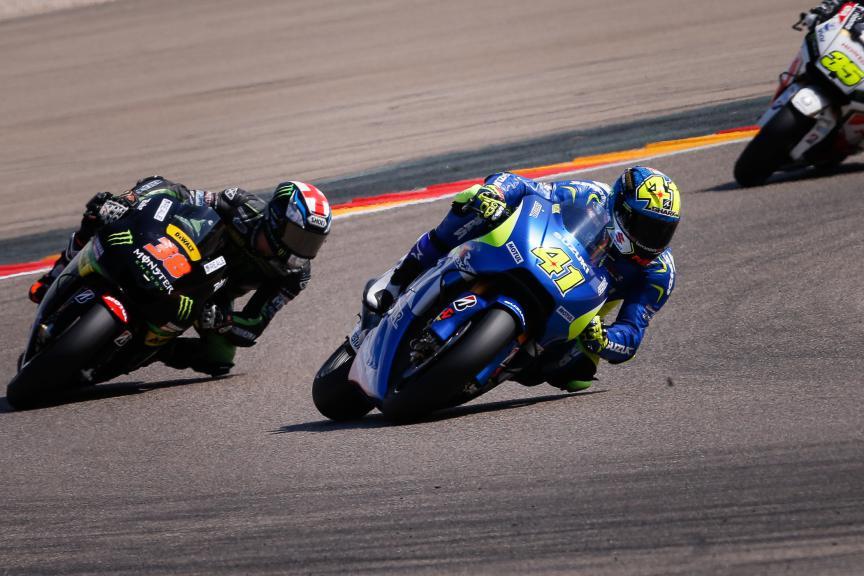 Aleix Espargaro, Team Suzuki Ecstar, Aragón GP RACE