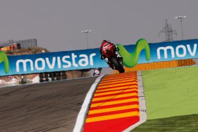 Folger: Starker vierter Platz in Aragon