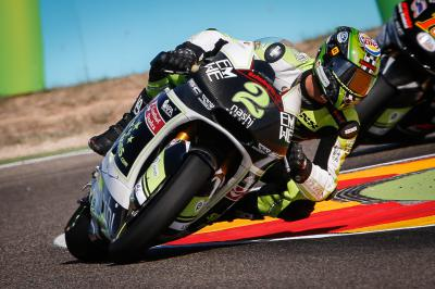 Raffin schafft in Aragon Top 20