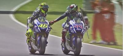 ¿Cómo manejan en el box la batalla entre Rossi y Lorenzo?