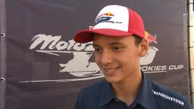 The 2015 Red Bull MotoGP Rookies Cup champion, Bo Bendsneyder, confirms that he will be in the Moto3 Championship next year.