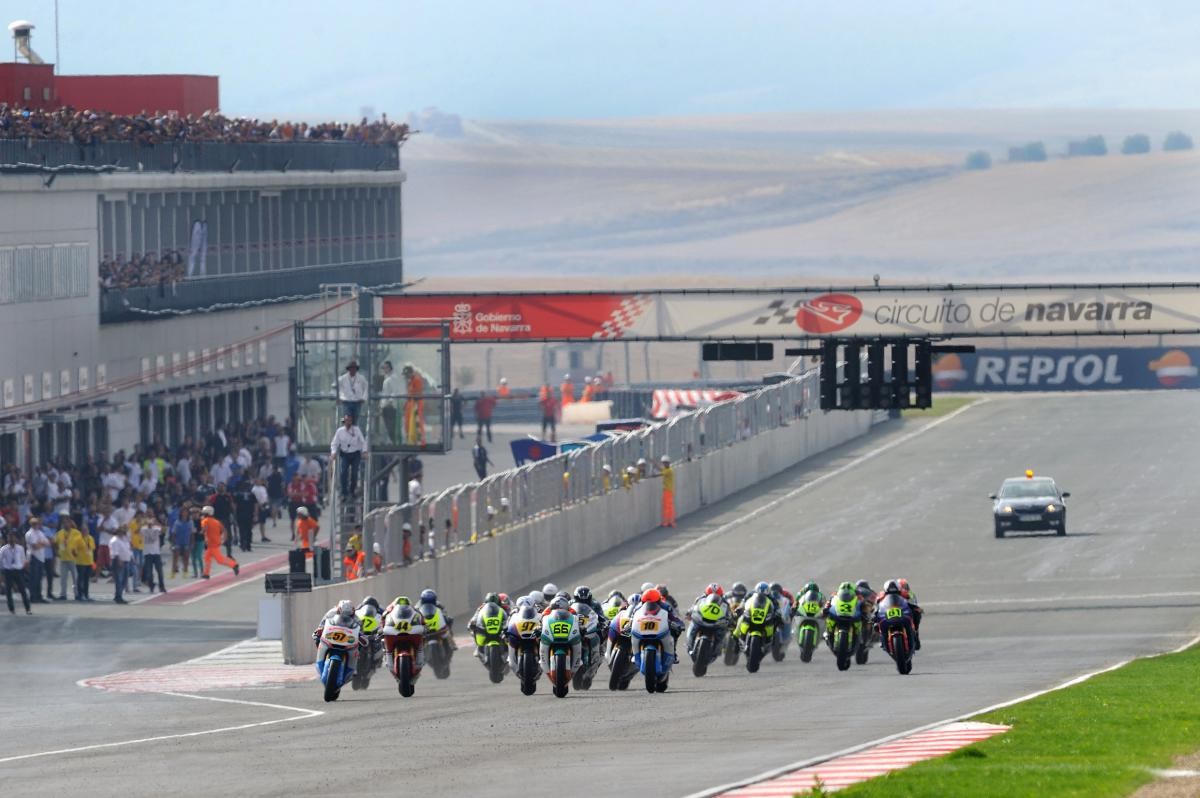 Circuito Navarra : Navarra a new challenge for fim cev repsol riders motogp™
