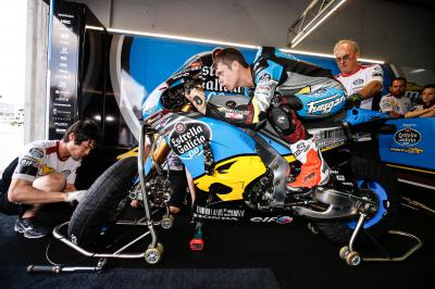 Rabat moves to MotoGP™ with Estrella Galicia 0,0 Marc VDS
